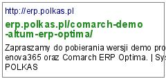 http://erp.polkas.pl/comarch-demo-altum-erp-optima/